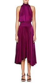 Renzo Satin Halter Dress at Barneys