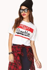 Rep Brooklyn Crop Top at Forever 21