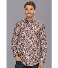 Report Collection LS Novelty Paisley 01 White at 6pm