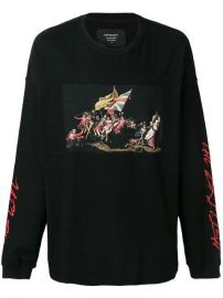 Represent Battle Print Sweatshirt at Farfetch