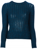 Resille knit sweater by Carven at Farfetch