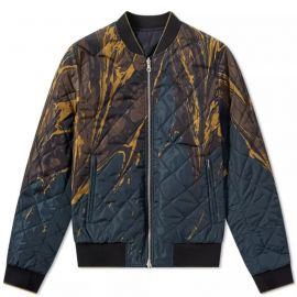 Reversible Bomber Jacket by Dries Van Noten at End.
