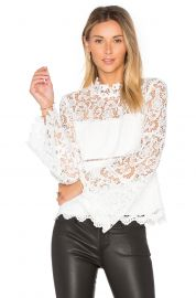 Revolve Sansa Lace Top by Bardot at Revolve