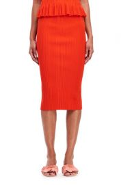 Ribbed Skirt at Rebecca Taylor
