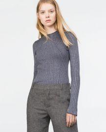 Ribbed Sweater at Zara
