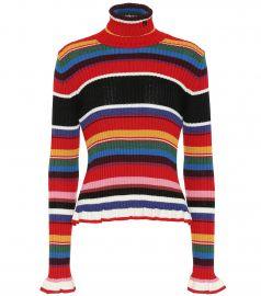Ribbed turtleneck sweater at Mytheresa