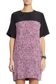 Richard Nicoll Printed Washed Silk Dress at The Outnet