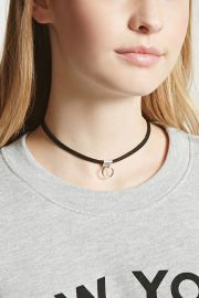 Ring Pull Choker   Forever 21 - 1000086566 at Forever 21