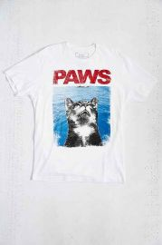 Riot Society PAWS Tee at Urban Outfitters