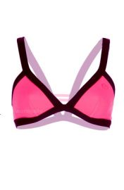 Rip Curl and39Mirageand39 Colorblock Bikini Top in pink at Nordstrom