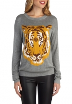 Roars and Stripes Sweater at Modcloth