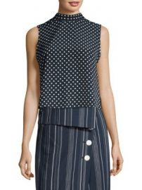 Robert Rodriguez - Ruffle Dot Top at Saks Fifth Avenue