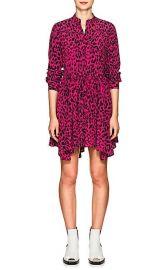 Robert Rodriguez  Leopard-Print Silk Tie-Waist Dress at Barneys