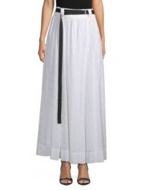 Robert Rodriguez Belted Eyelet Maxi Skirt at Saks Off 5th