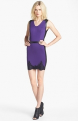 Robert Rodriguez Lace Hem Sheath Dress at Nordstrom