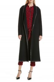 Robert Rodriguez Studded Wool Blend Coat at Nordstrom