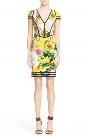 Roberto Cavalli  Wonderland  Print Sheath Dress at Nordstrom