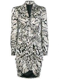 Roberto Cavalli Animal Print Shirt Dress - Farfetch at Farfetch