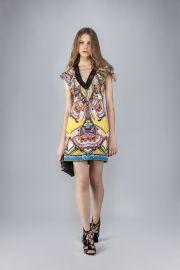 Roberto Cavalli Aztec Viscose Dress at Roberto Cavalli