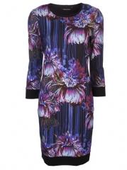 Roberto Cavalli Floral Knit Dress - Barbara Jean at Farfetch