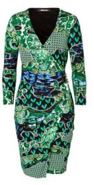 Roberto Cavalli Printed Dress at Stylebop