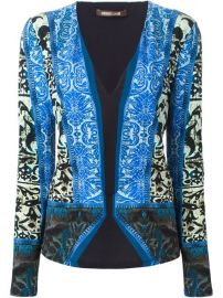 Roberto Cavalli Printed V-neck Blouse  - Kety Paniagua at Farfetch