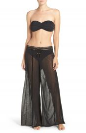 Robin Piccone Mesh Cover-Up Pants at Nordstrom