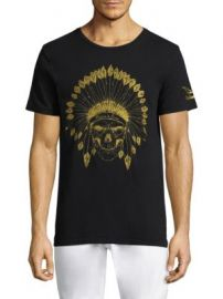 Robin s Jeans - Indian Skull Cotton Tee at Saks Fifth Avenue