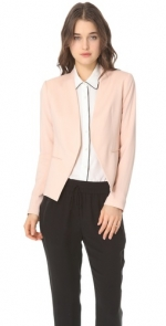 Peach blazer by Theory at Shopbop