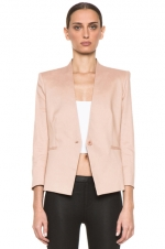 Robin's nude blazer at Forward by Elyse Walker at Forward by Elyse Walker