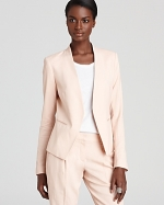 Peach blazer at Bloomingdales at Bloomingdales