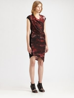 Robins red dress at Saks at Saks Fifth Avenue