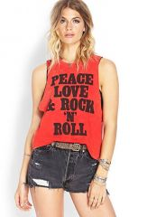 Rock n Roll Muscle Tee at Forever 21