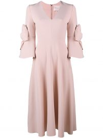 Roksanda Sibella bow embellished dress at Farfetch
