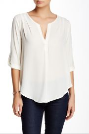 Roll Sleeve Blouse Juniors at Nordstrom Rack