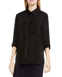 Roll Sleeve Utility Shirt by Two by Vince Camuto at Bloomingdales