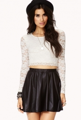 Romantic Lace Crop Top at Forever 21