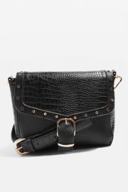 Romeo Crocodile Effect Crossbody Bag at Topshop