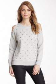 Romeo and Juliet Couture Studded Sweater at Nordstrom Rack