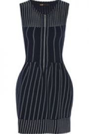 Romuald pleated stretch-knit mini dress at The Outnet