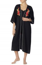Room Service Tie Front Satin Kimono  Nordstrom Exclusive at Nordstrom