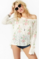 Rose sweater at Nasty Gal at Nasty Gal