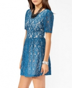 Rose's blue lace dress at Forever 21