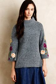 Rosevine Sweater Tunic at Anthropologie