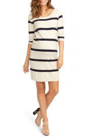 Rosie Pope Harper Stripe Maternity Sweater Dress at Nordstrom
