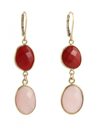 Rosy Reds Earrings at Peggy Li