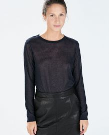 Round Neck Sweater  at Zara
