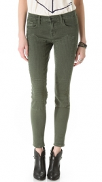 Roz Moto skinny jeans by J Brand at Shopbop