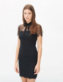 Rozen Dress in Black at Sandro