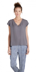 Rubina top in Steel at Joie